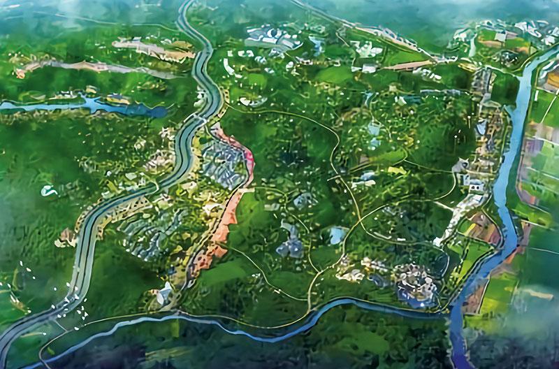 新洲桂花产业示范园区一期项目