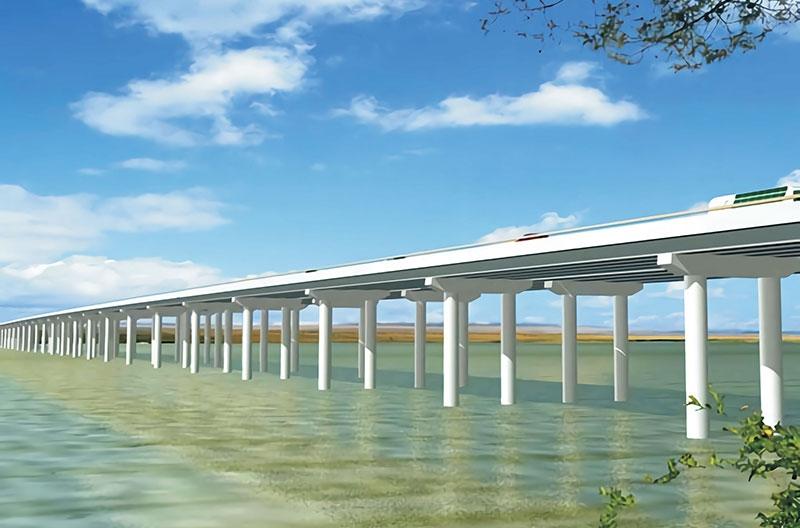 枣潜高速公路汉江特大桥